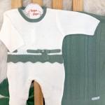 Saída de Maternidade- Yasmin- Off com Verde