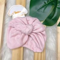 Turbante de linha- Rosa