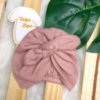 Turbante de linha- Rosê