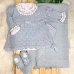 Saída de maternidade Bela- Azul