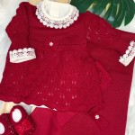 Saída de maternidade Bela- Vermelho