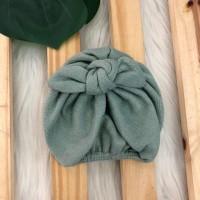 Turbante de linha- Verde
