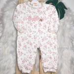 Macacão Trape Zape- Todo Florido baby