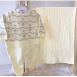 Saída de maternidade Giovanna- Amarelo
