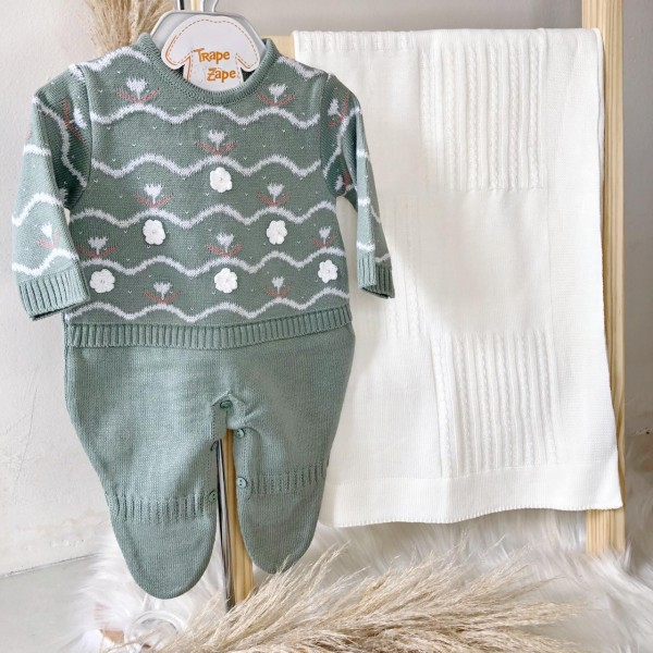 Saída de maternidade Giovanna- Verde