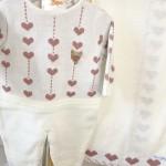 Saída de maternidade Martina- Off com rosê