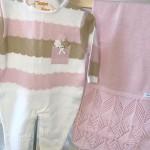 Saída de maternidade Mirela- Rosa e bege