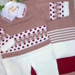 Saida Maternidade Heloisa -  Rose e vermelho