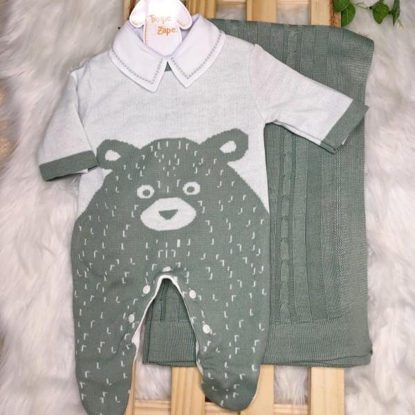 Saida Maternidade Teddy - Verde