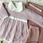 Saída de maternidade - Aurora rosê